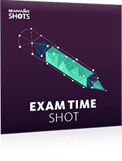Exam Time Shot Cover